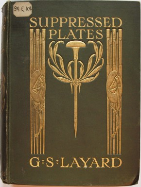 Suppressed plates, by George Somes Layard. Book, published London: Adam and Charles Black, 1907. ©Victoria & Albert Museum, London