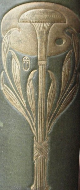 Detail from spine of: Suppressed plates, by George Somes Layard. Book, published London: Adam and Charles Black, 1907. NAL 1731-1907. ©Victoria & Albert Museum, London
