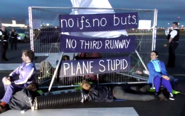 Plane Stupid Heathrow 13 Action - 02