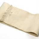 Copyright Victoria and Albert Museum. Baby's binder, cotton, English, 1880-1900