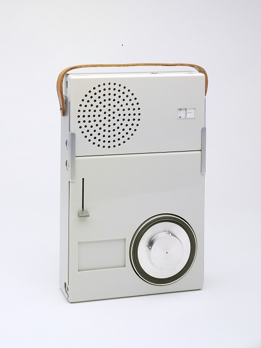 Braun portable record player, Dieter Rams, 1959