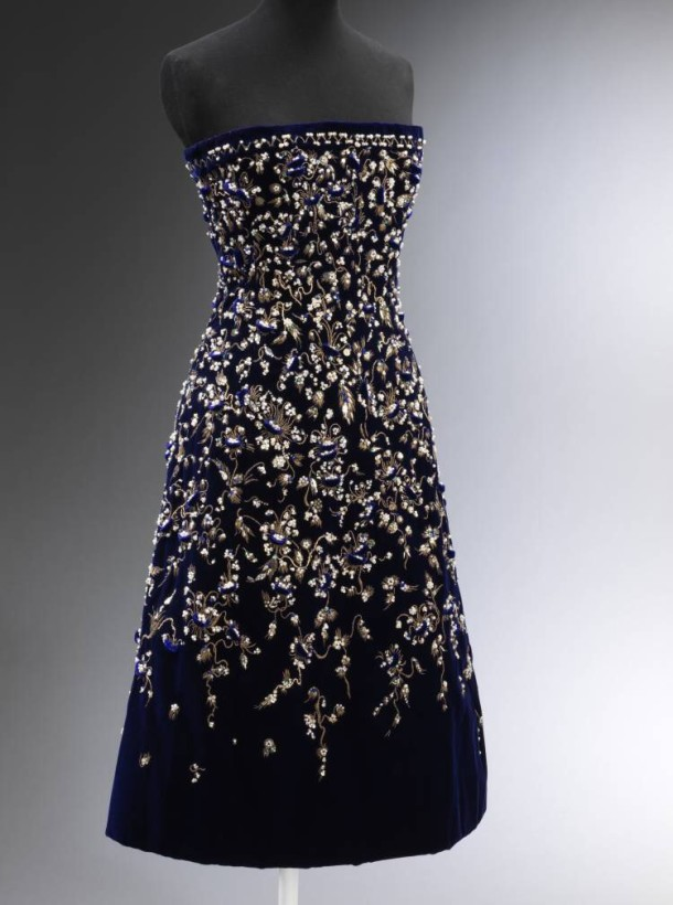 'Bosphore' Evening Dress, Christian Dior, embroidery by Rébé, 1956