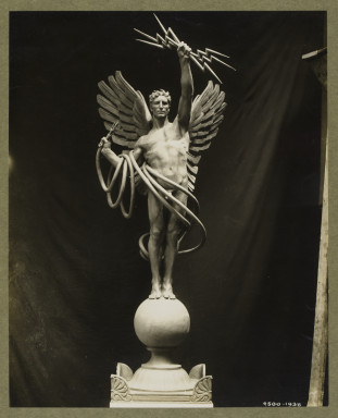 4500-1938 Photograph of the sculpture 'Electricity' by Evelyn Beatrice Longman Photograph