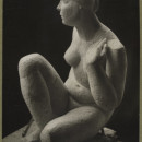 Frank Dobson (1887-1963) Photograph of a sculpture  titled 'Susannah'