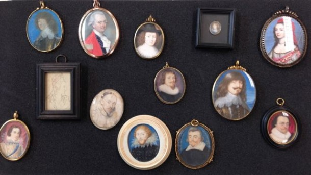 A selection of European portrait miniatures from the V&A, © Victoria & Albert Museum, London