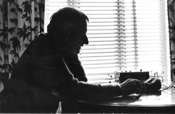 Lindsay Anderson c. 1969 © S. Linden.