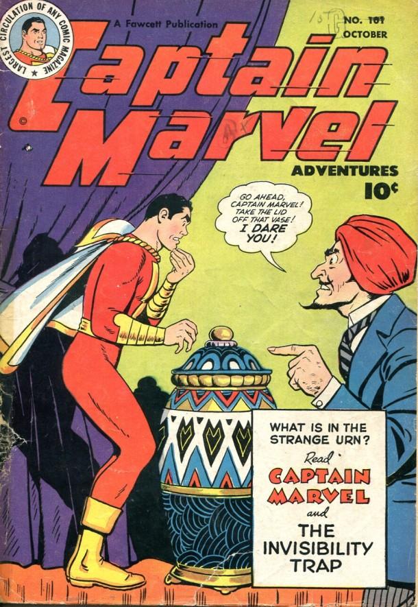 Captain Marvel Adventures #101, 1949 © Fawcett Publ. Inc.