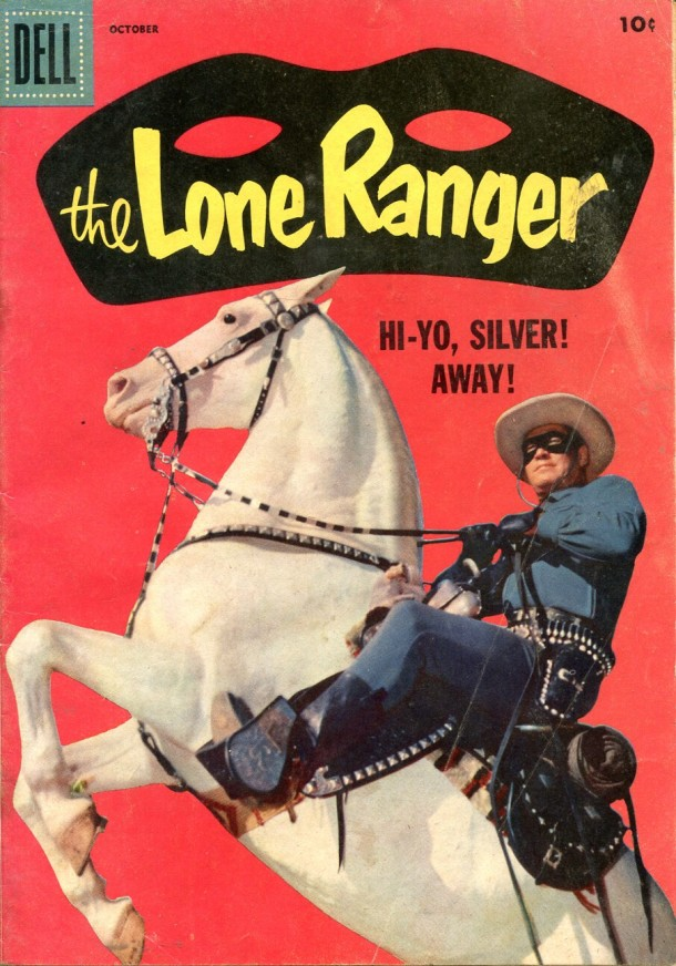 The Lone Ranger #112, 1957. © Dell.