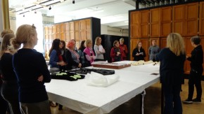 Tour of the Clothworkers' Centre for the Study and Conservation of Textiles and Fashion ©Angelika Riley