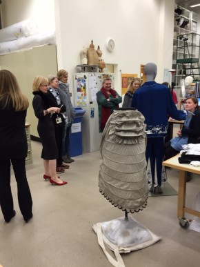 In the Conservation Lab V&A conservators and costume mounting experts talk to us about their current projects. © Sarah Hall
