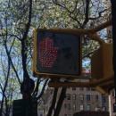 Hand signal, New York crossing