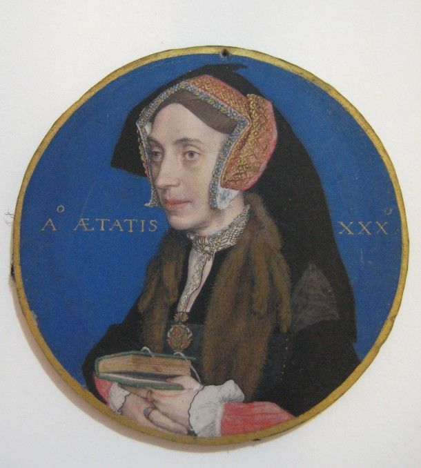Margaret More (1505–1544), Wife of William Roper, by Hans Holbein the Younger, 1535/36, The Metropolitan Museum of ArtRogers Fund 1950. Accession number: 50.69.2 Photography by Victoria Button. Removed from locket