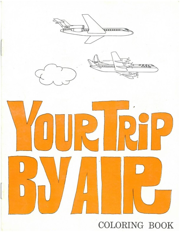 Your Trip by Air front cover, Copyright Victoria & Albert Museum 2016