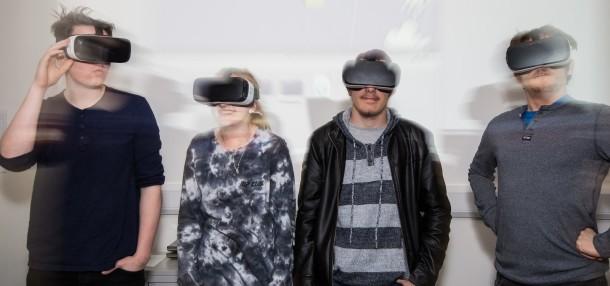 VR pioneers! Photo Credit: Vianney Le Caer/Rex/Shutterstock