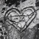 Brassaï, from Graffiti Series VI: 'Love', 1933-56.  © Estate of Brassaï - RMN