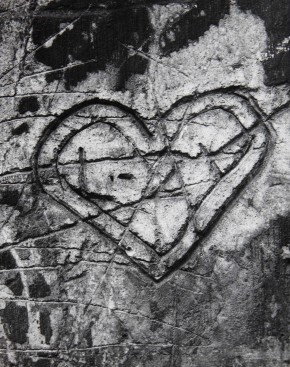 Brassaï, from Graffiti Series VI: 'Love', 1933-56. © Estate of Brassaï - RMN