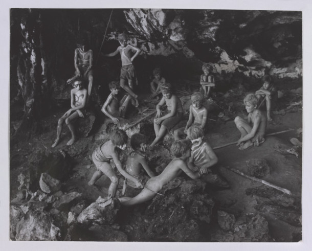 Image from Lord of the Flies directed by Peter Brook © Victoria and Albert Museum, London