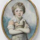Unknown boy, perhaps Sir Frederick Augustus D'Este (1794-1848). Copyright Victoria and Albert Museum