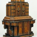 Writing cabinet, Würzburg, made by Jacob Arend and Johannes Wittalm in the workshop of Servatius Arend, 1716. Museum no. W.23-1975. © Victoria and Albert Museum, London