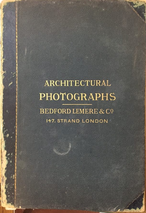 Bedford Lemere Architectural Photographs Museum no. E.663-2016