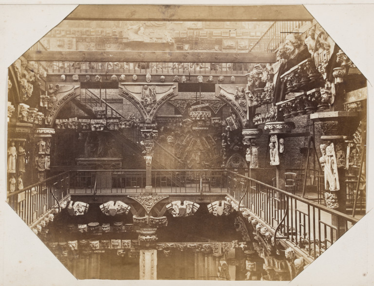 Bedford Lemere Royal Architectural Museum 1872 Albumen print Museum no. E.663:2-2016 ©Victoria and Albert Museum