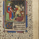 MSL/1902/1649 folio 78 r, Book of Hours, French, ca. 1425. © V&A Museum.