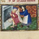 MSL/1910/2385 folio 2 r, Book of Hours (the Margaret de Foix  Hours), France, ca. 1470. © V&A Museum.