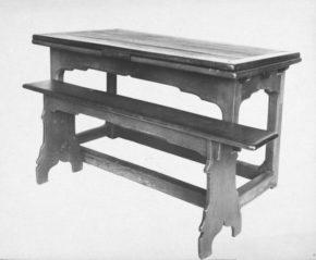 263-1908, bench, England, 1500-1550. © V&A Museum