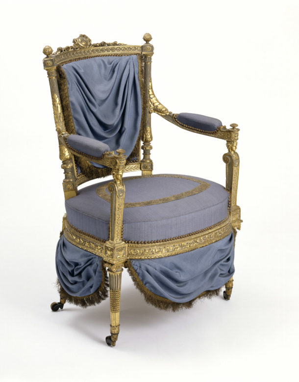 Armchair before treatment (W.6-1956)