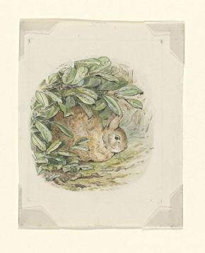 Illustration intended for The Tale of Peter Rabbit
