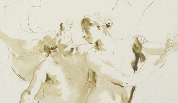 G.B. Tiepolo, Apollo and Daphne © V&A Museum