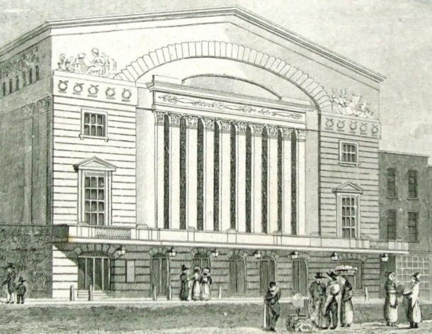 The Royal Brunswick Theatre, by Schnebbelie