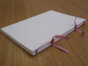 Model of a case binding.