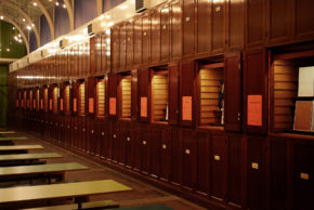 The Cabinets in the V&A lunchroom
