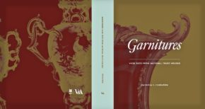 Cover of Garnitures: Vase Sets from National Trust Houses, V&A Publishing, London, 2016