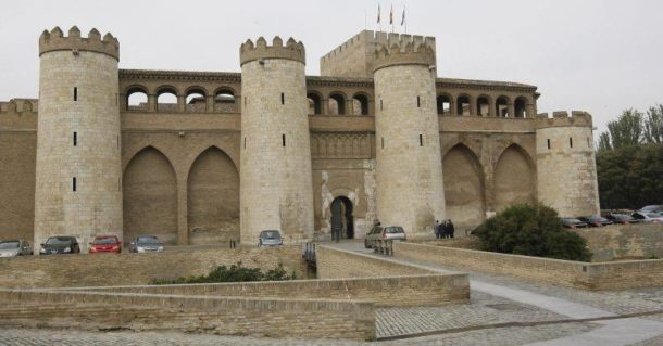 Aljaferia Palace in the Taifa of Zaragoza of Al-Andalus, © Victor Borges