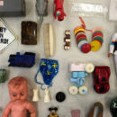 Part of the 'Plastic Teaching Collection' held in the Conservation Science Laboratory