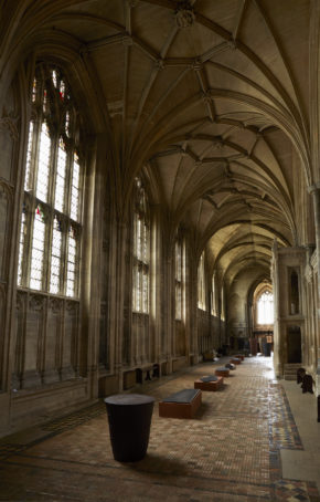 View of 'Quietus' at Winchester Cathedral, 2013 © Jan Baldwin/Julian Stair.