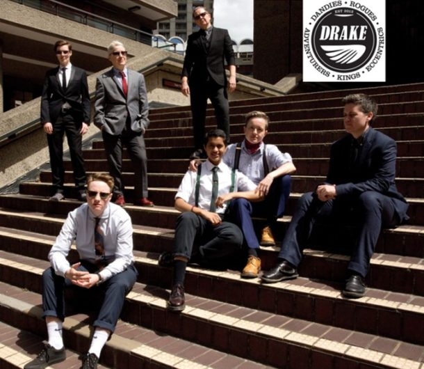 The Drakes: A group of butches, transmen and masculine-identified people who joined together in the spirit of masculine solidarity in early 2012. Photographer - Kay Fi'ain.