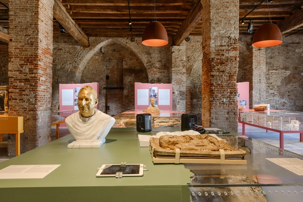 Installation view of 'A World of Fragile Parts', presented by La Biennale di Venezia and V&A, 2016. Photo by Andrea Avezzu' courtesy of La Biennale di Venezia.