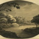 Samuel Alken after William Gilpin. Aquatint plate from: Gilpin, William. 'Remarks on forest scenery, and other woodland views, (relative chiefly to picturesque beauty)' Vol. 2 (London: printed for R. Blamire, 1791). NAL: 38041800769051