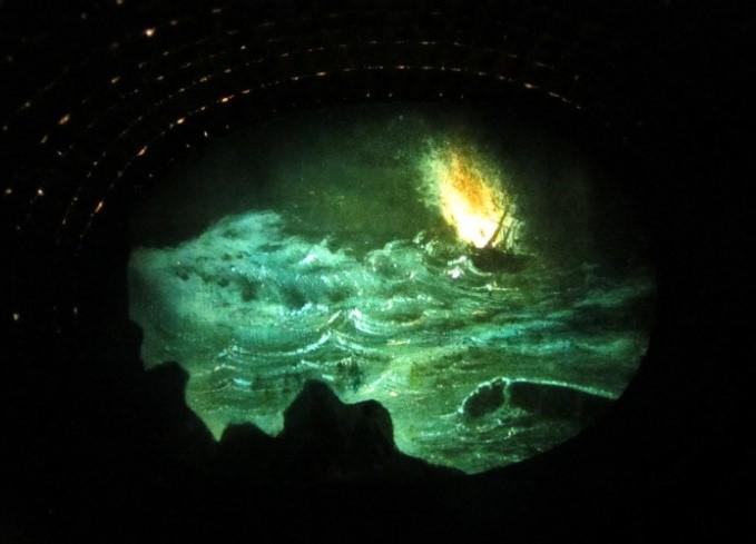Fig. 3. 'Les bains de Dieppe' – Night view