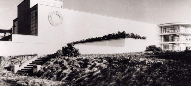 1930s image of the De La Warr Pavilion, © De La Warr Pavilion.