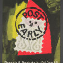 'Post early,' poster, Hans Unger, 1964