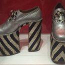 Men's platform heels, Italy, ca.1972-75
