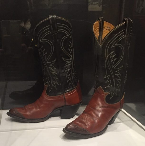 Cowboy boots, America, ca. mid-19th century.