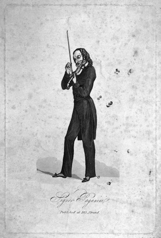 Signor Paganini. Museum no. 10038:2. © Victoria and Albert Museum, London