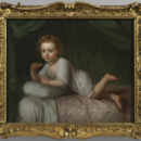 Portrait of Charles Bedford as an infant by Francis Hayman