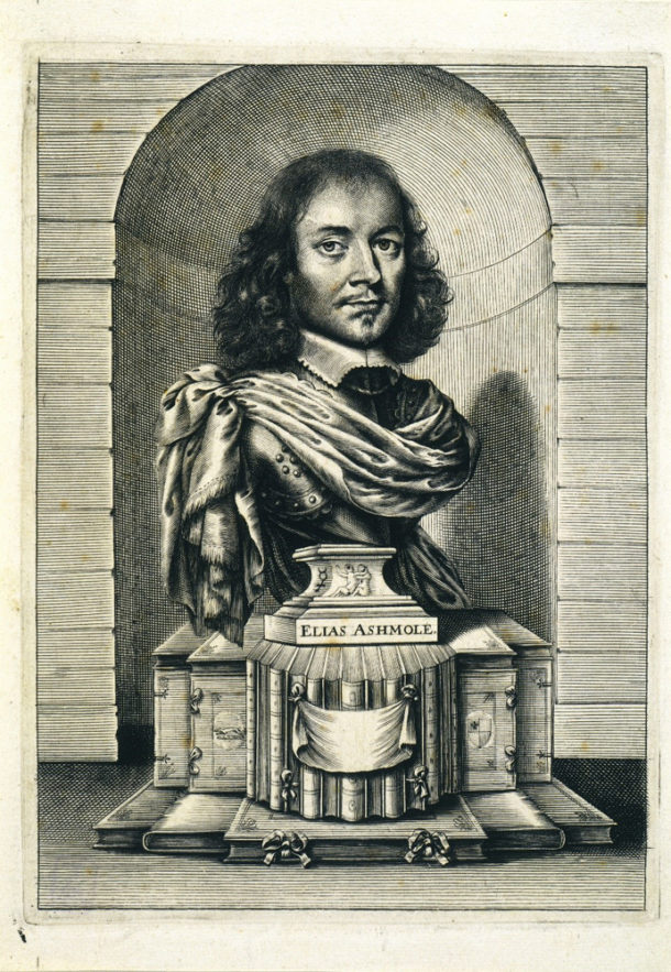 Portrait of Elias Ashmole