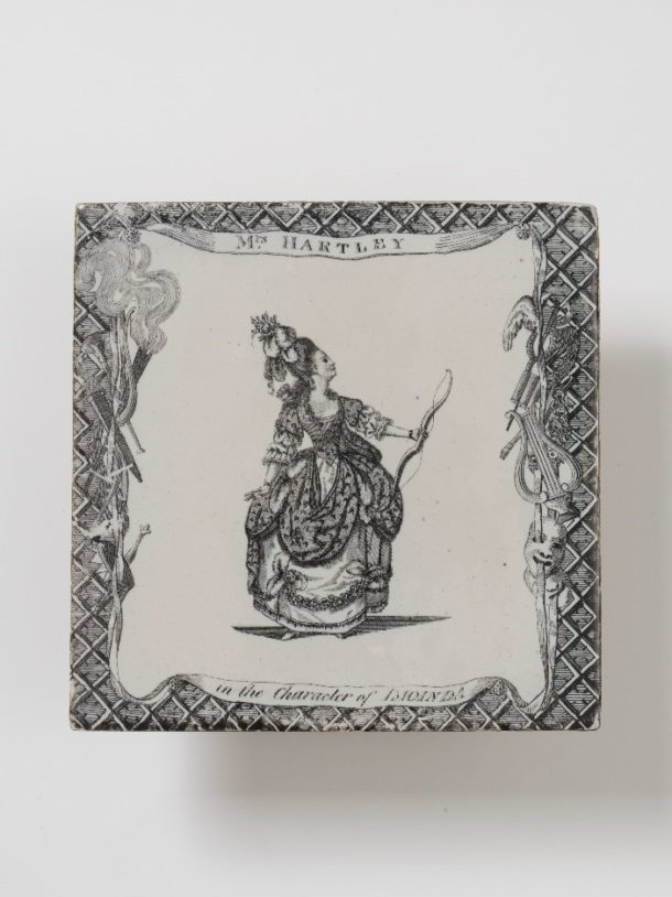 Delftware tile